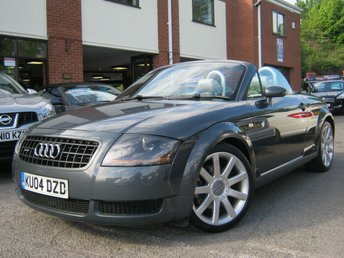 2004 AUDI TT 1.8 ROADSTER QUATTRO 2d 177 BHP £SOLD