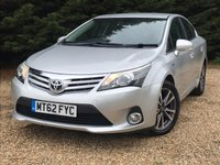USED 2013 62 TOYOTA AVENSIS 2.2 D-CAT TR 4d AUTO 150 BHP