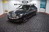 USED 2011 11 MERCEDES-BENZ C CLASS 2.1 C250 CDI BlueEFFICIENCY Sport 7G-Tronic 4dr SAT NAV, AMG SPEC, FULL LTHR