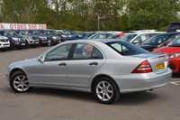 USED 2007 57 MERCEDES-BENZ C CLASS 1.8 C180 Kompressor Classic SE 4dr 2 OWNERS*SERVICE HISTORY
