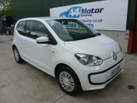 USED 2013 13 VOLKSWAGEN UP 1.0 Move up! 3dr £0 DEPOSIT FINANCE AVAILABLE!