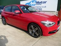 USED 2013 13 BMW 1 SERIES 2.0 118d Sport 5dr £0 DEPOSIT FINANCE AVAILABLE!