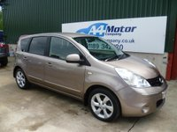 USED 2010 10 NISSAN NOTE 1.5 dCi Tekna 5dr E5 £0 DEPOSIT FINANCE AVAILABLE!