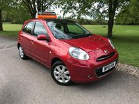 USED 2012 61 NISSAN MICRA 1.2 TEKNA DIG-S 5d 97 BHP Very Low Mileage [FSH]!
