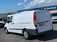 USED 2014 64 MERCEDES-BENZ VITO 2.1 113 CDI AC LONG LWB LWB, AC, ONE OWNER, FULL MAIN DEALER SERVICE HISTORY,