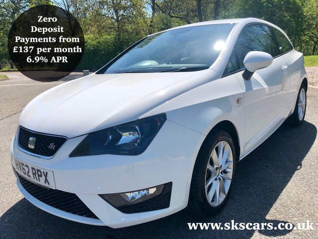 2012 62 SEAT IBIZA 1.4 TSI FR DSG 3d AUTO 148 BHP