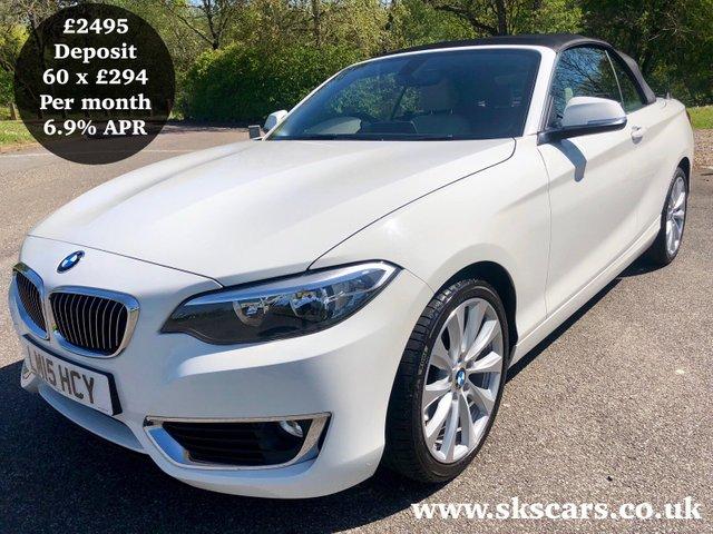 2015 15 BMW 2 SERIES 2.0 220I LUXURY 2d AUTO 181 BHP