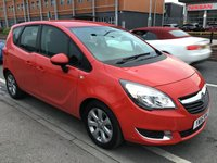 USED 2016 16 VAUXHALL MERIVA 1.4 LIFE 5d 99 BHP Best value Meriva in town, 30,000 miles, superb.