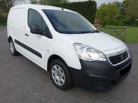 USED 2016 16 PEUGEOT PARTNER  PROFESSIONAL 850 1.6 HDI 90 BHP Direct From Leasing Company Only 15000 Miles & Full Service History! Popular Top Of Range Model With Bigger Payload And 90 Bhp Engine