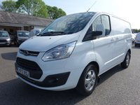 USED 2017 17 FORD TRANSIT CUSTOM 270 LIMITED L1 SWB EURO 6 2.2 TDCI 130 BHP Top Of Range Model With High Specification, 36000 Miles And Warranty Till March 2020, Very Clean Example!