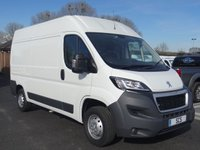USED 2016 16 PEUGEOT BOXER 335 PROFESSIONAL LWB HIGHTOP  2.2 HDI 130 BHP Top Of Range Model Ex Leasing Company With Low Mileage And Full Service History, Extras Inc Air Con, Sat Nav, Park Sensors & Cruise Control!