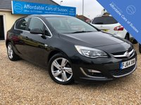 USED 2014 64 VAUXHALL ASTRA 1.6 SRI 5d 113 BHP PETROL Low Mileage Petrol 5 door Hatchback