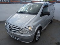 USED 2013 13 MERCEDES-BENZ VITO 2.1 116 CDI 1d 163 BHP MERCEDES VITO 116 SPORT AIR CON ALLOYS
