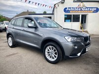 USED 2013 13 BMW X3 2.0 XDRIVE20D SE 5d 181 BHP Cruise, Electric Folding Tow Bar, Leather, 4X4!