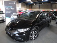 USED 2013 13 HONDA CIVIC 1.6 I-DTEC EX 5d 118 BHP