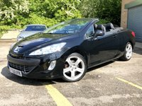 2011 PEUGEOT 308 2.0 CC GT HDI 2d FULL BLACK LEATHER, NECK SCARF, HEATED SEATS  £4990.00