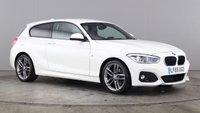 USED 2015 65 BMW 1 SERIES 2.0 118D M SPORT 3d AUTO 147 BHP