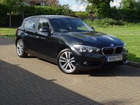 USED 2015 15 BMW 1 SERIES 2.0 118D SPORT 5d AUTO 147 BHP