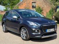 2016 PEUGEOT 3008 1.6 BLUE HDI S/S ALLURE 5d AUTO 120 BHP £11695.00