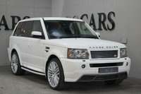 USED 2007 57 LAND ROVER RANGE ROVER SPORT 2.7 TDV6 SPORT HSE 5d 188 BHP Bespoke Body Kit, 22Inch Alloy Wheels, Black Full Leather Heated Electric Memory Seats, Satellite Navigation, Bluetooth Connectivity, Harmon Kardon Premium Sound, Front and Rear Park Distance Control, Dual Zone Climate Control, Factory Fitted Land Rover Side Steps, Leather Multi Function Steering Wheel, Cruise Control, Heated Electric Powerfold Mirrors, Privacy Glass,
