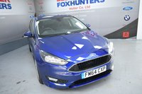 USED 2015 64 FORD FOCUS 1.6 ZETEC S 5d AUTO 124 BHP Automatic, Bluetooth, DAB Radio, Privacy Glass, 18in alloys