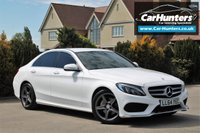 USED 2014 13 MERCEDES-BENZ C CLASS 2.0 C200 AMG LINE 4d AUTO 184 BHP
