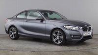 USED 2016 16 BMW 2 SERIES 1.5 218I SPORT 2d 134 BHP