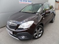 USED 2013 63 VAUXHALL MOKKA 1.7 SE CDTI S/S 5d 128 BHP FULL LEATHER, 68000 MILES 4X4