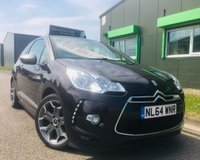 2014 CITROEN DS3 1.6 DSTYLE 3 DOOR 120 BHP only 33.000 miles with full service history £5495.00