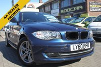 2011 BMW 1 SERIES 2.0 120D SE 5d AUTO 175 BHP £7290.00