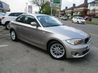 USED 2012 12 BMW 1 SERIES 2.0 118D ES 2d 141 BHP Low Mileage & Full Service History
