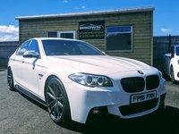 2015 BMW 5 SERIES 2.0 520D M SPORT 4d AUTO 188 BHP £15750.00