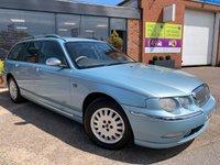 2002 ROVER 75 2.0 CONNOISSEUR CDT TOURER 5d AUTO 114 BHP £1495.00
