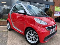 2013 SMART FORTWO 1.0 PASSION MHD 2d AUTO 71 BHP £4995.00