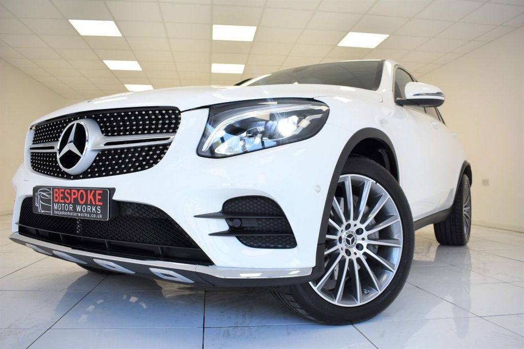 USED 2018 68 MERCEDES-BENZ GLC CLASS GLC 220D 4MATIC AMG LINE PREMIUM COUPE AUTOMATIC