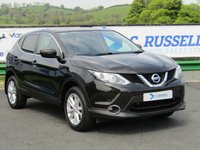 USED 2014 NISSAN QASHQAI 1.5 DCI ACENTA SMART VISION 5d 108 BHP