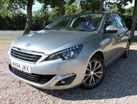 """USED 2014 64 PEUGEOT 308 1.6 BLUE HDI ALLURE 5d 120 BHP Stunning Peugeot 308 Allure Blue HDI (S/S) comes with SAT NAV, REVERSING CAMERA, CRUISE CONTROL, PARKING SENSORS, BLUETOOTH,...! With new service/ 1 year new MOT/ Warranty/ 2 Keys/ 2 Owners/ HPI Cleared/ Road Tax £0 annual/ READY TO GO!  BOOK A TEST DRIVE TODAY! APPLY FOR A CAR FINANCE ON OUR WEBSITE PAGE """"FINANCE""""."""