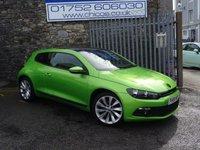 2010 VOLKSWAGEN SCIROCCO 2.0 GT TDI  2d 170 BHP £7299.00