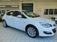 USED 2015 15 VAUXHALL ASTRA 2.0 ELITE CDTI S/S 5d 163 BHP FULL SERVICE HISTORY + A FULL MOT + CRUISE CONTROL + CLIMATE CONTROL + ALLOYS + LOW MILEAGE + FRONT AND REAR PARKING SENSORS + CD/RADIO/MP3