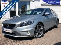 USED 2013 63 VOLVO V40 2.0 D4 R-DESIGN LUX 5d 177 BHP SUPPLIED WITH 12 MONTHS MOT, LOVELY CAR TO DRIVE