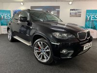 USED 2011 61 BMW X6 3.0 XDRIVE30D 4d AUTO 241 BHP F/S/H, IMMACULATE, LOW MILEAGE