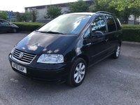 2010 VOLKSWAGEN SHARAN 1.9 S TDI 5d AUTO 114 BHP £1850.00