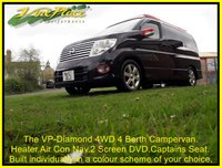 USED 2005 NISSAN ELGRAND V-P Diamond 4 Berth, 4 Seat, 4 Wheel Drive Campervan