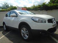 USED 2011 61 NISSAN QASHQAI 1.6 ACENTA 5d 117 BHP GUARANTEED TO BEAT ANY 'WE BUY ANY CAR' VALUATION ON YOUR PART EXCHANGE