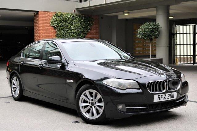 USED 2013 BMW 5 SERIES 2.0 520D SE 4d AUTO 181 BHP