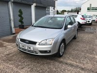 USED 2007 57 FORD FOCUS 1.6 GHIA 4d AUTO 100 BHP AUTOMATIC-SERVICE HISTORY-1 FORMER KEEPER-LOW MILEAGE