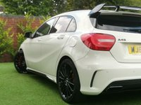 USED 2013 63 MERCEDES-BENZ A CLASS 2.0 A45 AMG 4MATIC 5d AUTO 360 BHP AERO PACK