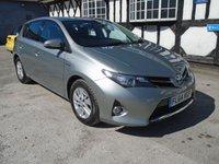 2014 TOYOTA AURIS 1.8 ICON VVT-I 5d AUTO 99 BHP £9990.00