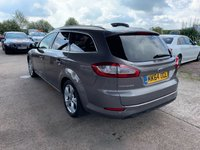 USED 2014 64 FORD MONDEO 2.0 TITANIUM X BUSINESS EDITION TDCI 5d AUTO 161 BHP
