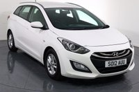 USED 2012 12 HYUNDAI I30 1.6 CRDI ACTIVE BLUE DRIVE ESTATE 5d 109 BHP 2 OWNERS with 5 Stamp SERVICE HISTORY